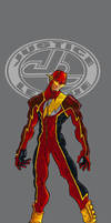 Ultimate JLA Flash colour