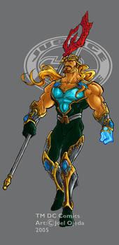 JLA Ultimate Aquaman colour