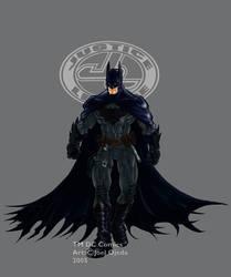 JLA Ultimate Batman colour by mistermoster