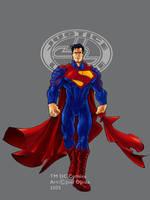 JLA Ultimate Superman colour by mistermoster