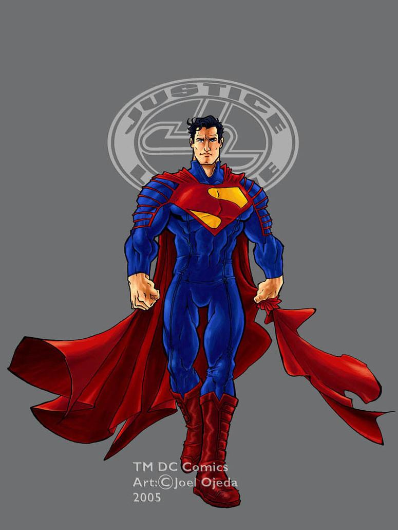 jla ultimate superman colour by mistermoster - Superman Pictures To Colour