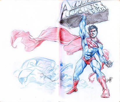 Action comics 1000 - back to basics