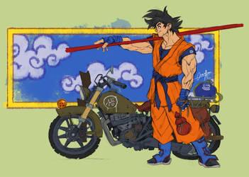 DBZ goku bike