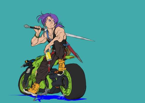DBZ trunks bike