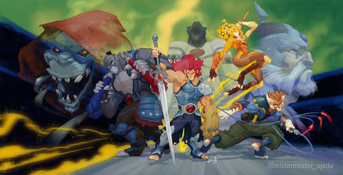 Thundercats Redesing challenge