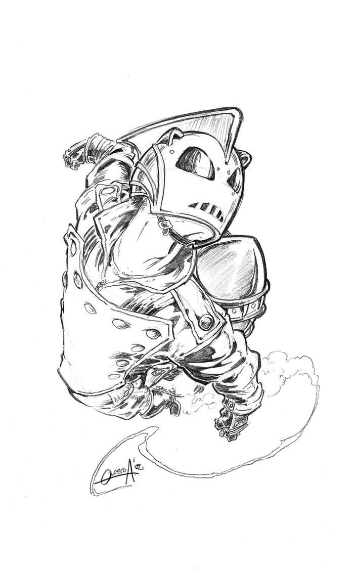 Rocketeer jam - my piece by mistermoster