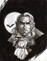 Symphony of the Night Dracula by mistermoster