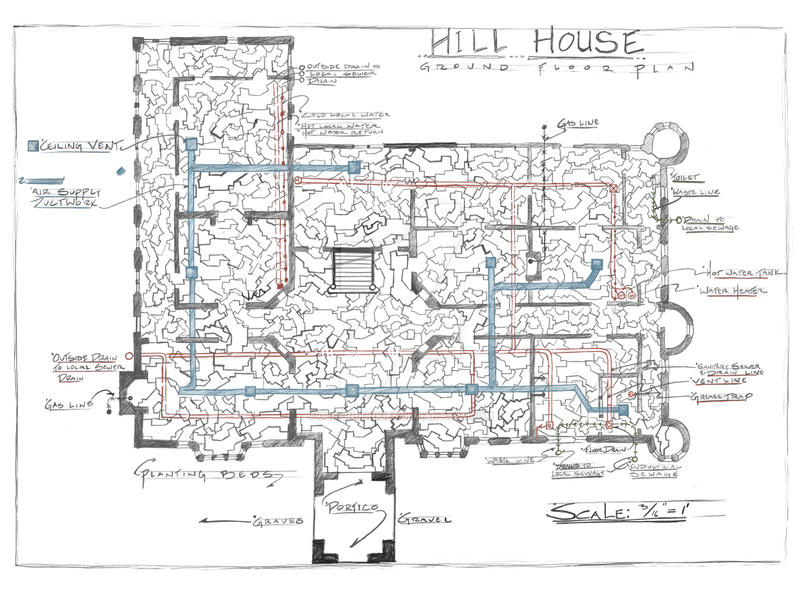 Hill House Blueprint (combined master plan) by designjunkies