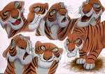 The Many Faces Of Shere Khan