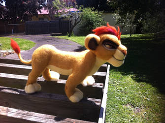 Kion - Needle Felting Sculpture (Right Side View) by NostalgicChills