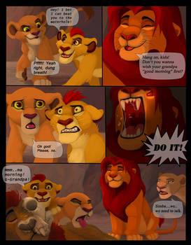 If Simba actually was more like Kimba..