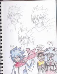 Samano Strikes by Mitzuharu