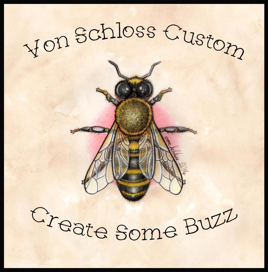 Von Schloss Custom Bee Design by vonSchloss