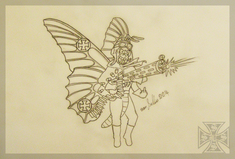 WW1 Fokker Butterfly by vonSchloss