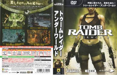 Tomb Raider Underworld casing cover PC JP by hanashimashou