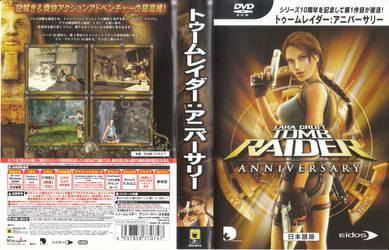 Tomb Raider Anniversary casing cover PC JP by hanashimashou