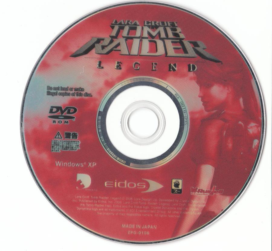 Disc By Supermaxer On Deviantart: Tomb Raider Legend DVD Disc PC JP By Hanashimashou On