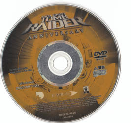 Tomb Raider Anniversary DVD Disc PC JP by hanashimashou
