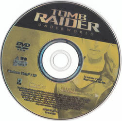 Tomb Raider Underworld DVD Disc PC JP by hanashimashou