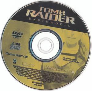 Tomb Raider Underworld DVD Disc PC JP