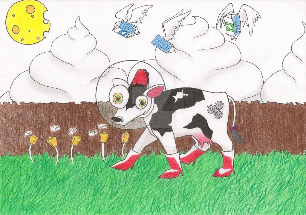 Vaca para Ziggy by gaara444