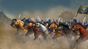 Stormwind Cuirassiers - Larger HQ version