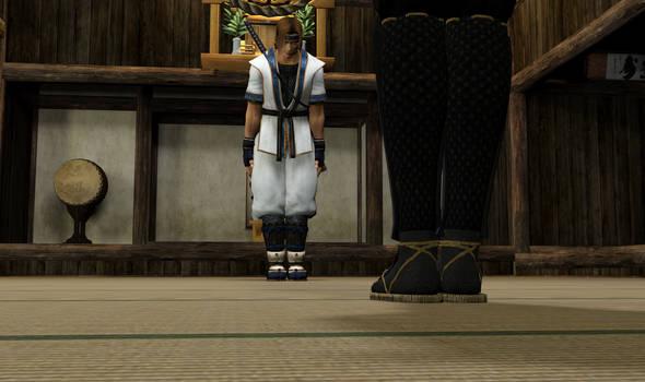 Ticklish Ninja Training 3