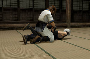 Ticklish Ninja Training 4
