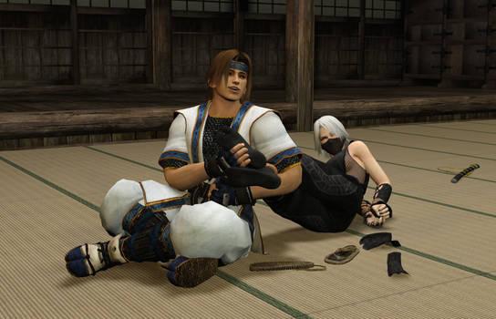 Ticklish Ninja Training 6