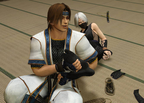 Ticklish Ninja Training 7