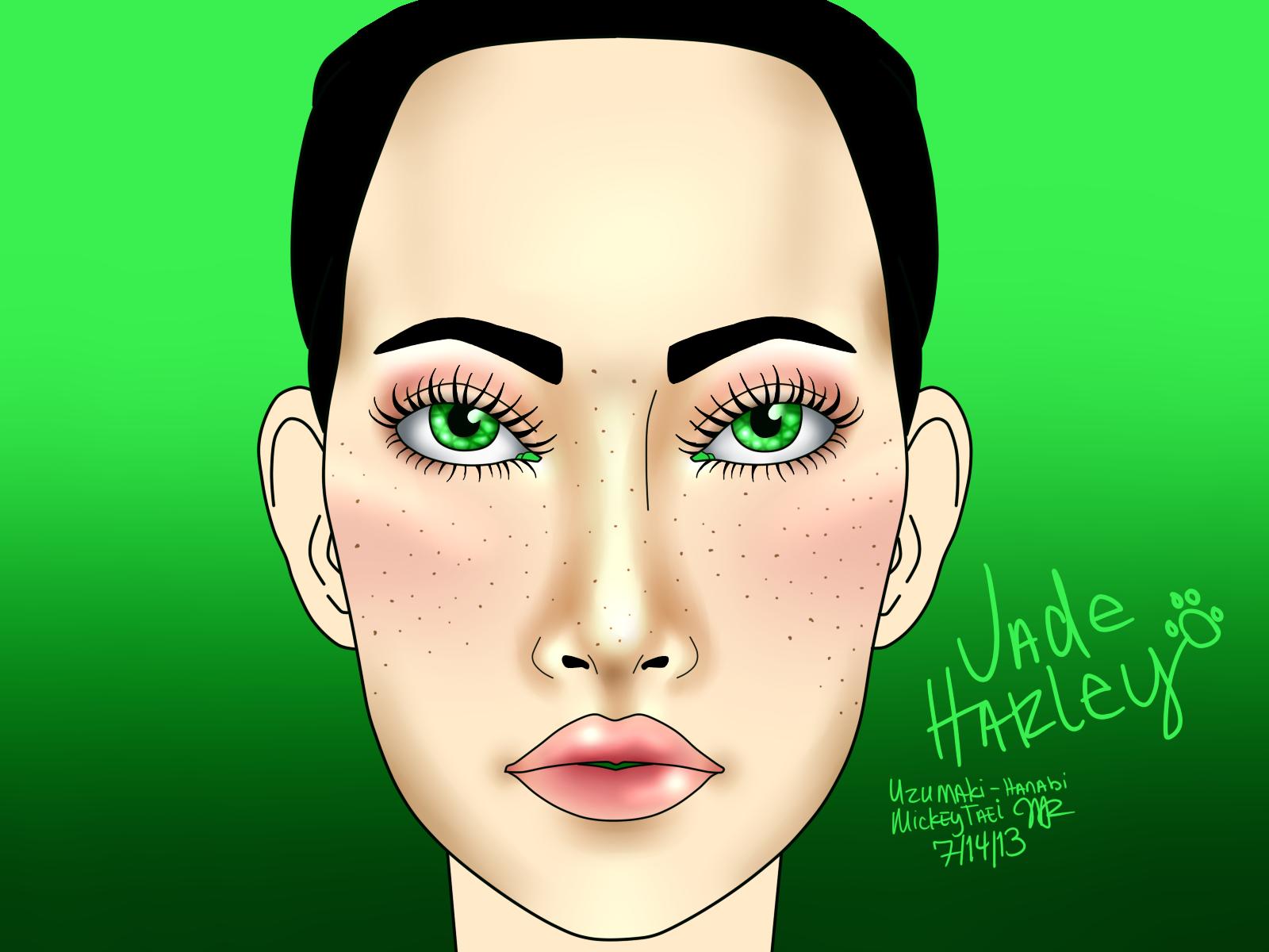 Jade Harley Makeup By Mickeytaei On