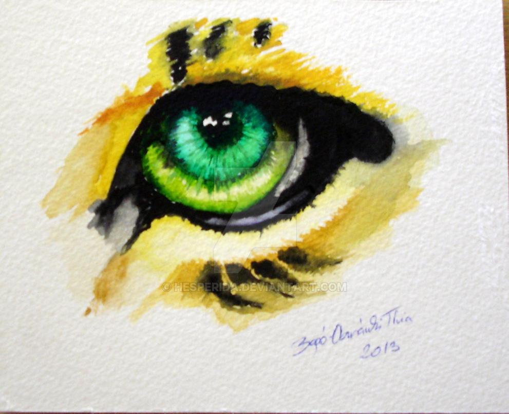 Tiger eye by Hesperida