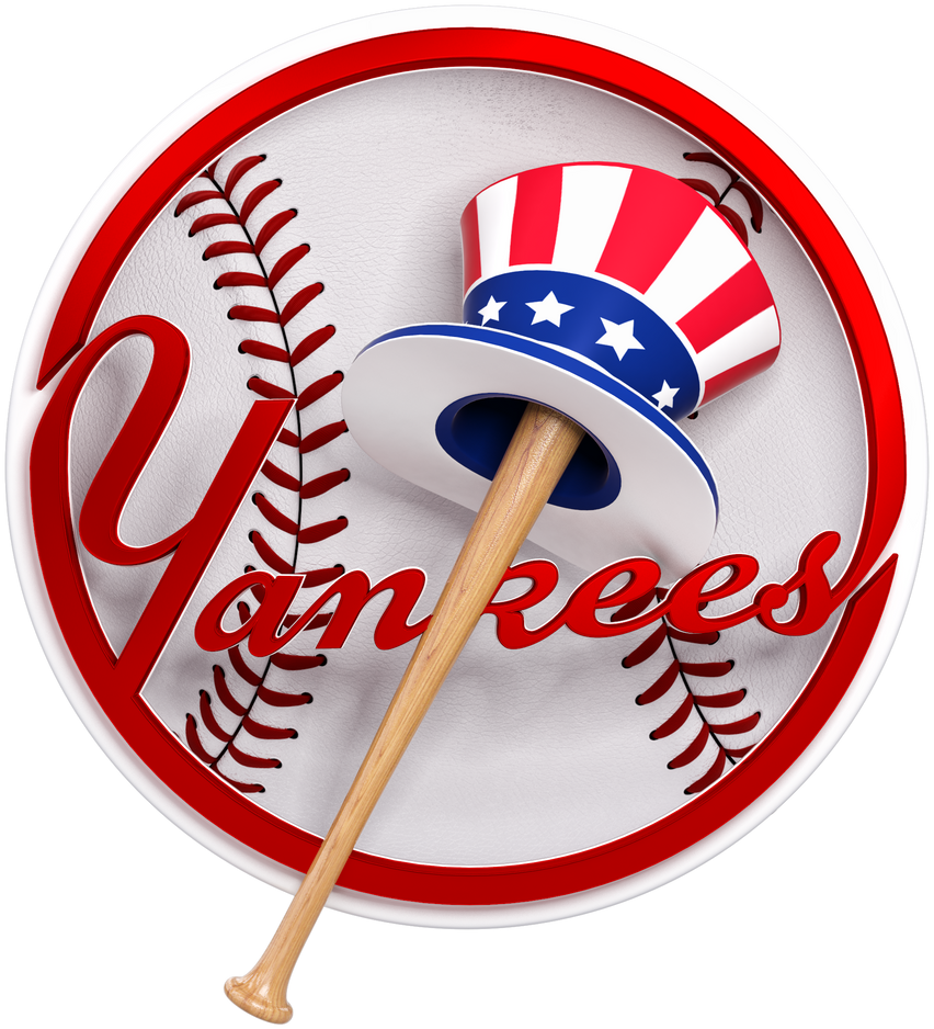 Classic Yankees Logo by SmokinGrafix