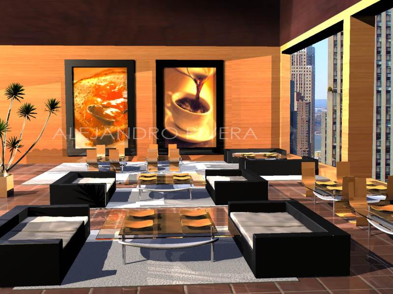 coffee shop living room by leusomir on deviantart