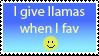 Favs and Llamas by anim3admir3r