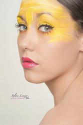 Liloe jaune citron by MakeUp-Lucette