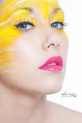Liloe jaune citron 1 by MakeUp-Lucette