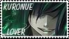 Kuronue Lover stamp by Hieislittlekitsune