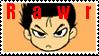 Yusuke says RAWR stamp by Hieislittlekitsune