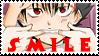 Smile Hiei stamp by Hieislittlekitsune
