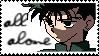 All Alone Yusuke Stamp by Hieislittlekitsune