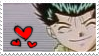 Smiling Child Yusuke Stamp by Hieislittlekitsune