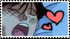 Sleeping Yusuke Stamp by Hieislittlekitsune