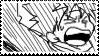 DAMMIT Stamp by Hieislittlekitsune