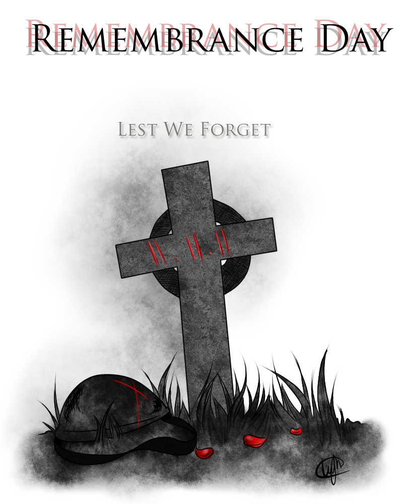 Remembrance Day Poster by Hieislittlekitsune on DeviantArt
