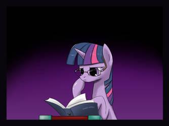Reading... by twilite-sparkleplz