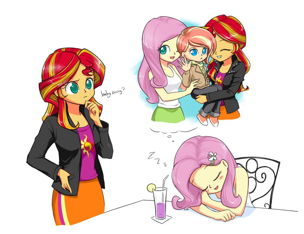 Babysitting! by twilite-sparkleplz