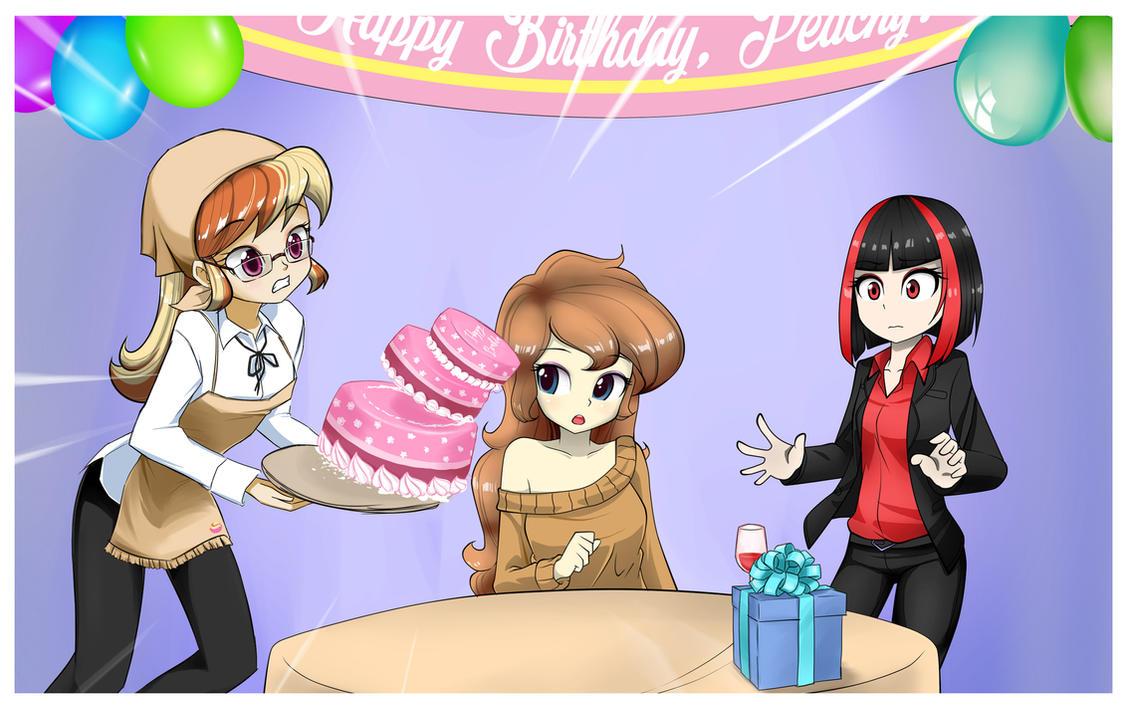 Happy Birthday, Peachy! (and also Fern!) by twilite-sparkleplz