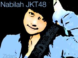 Nabilah JKT48 (Cartoon) by Zhiedhan17
