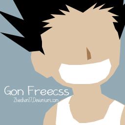 Gon Freecss Flat Desigin by Zhiedhan17